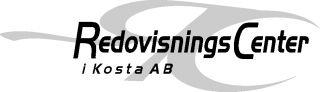 Redovisningsbyrå, Redovisning, Bokföring i Växjö, Lessebo, Emmaboda – RedovisningsCenter i Kosta AB Logotyp